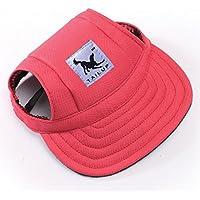 Gorra de béisbol para perros de Sijueam®, con agujeros para las orejitas de chihuahua, cachorros, carlinos, shih tzu, bulldog, yorshire, etc