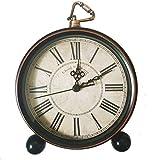 LambTown Reloj Despertador Retro Vintage Relojes Silenciosos no Para el Dormitorio Oficina Decorativa Para El Hogar