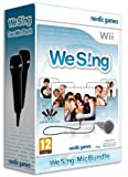 Cheapest We Sing & 2 Logitech USB Microphones on Nintendo Wii