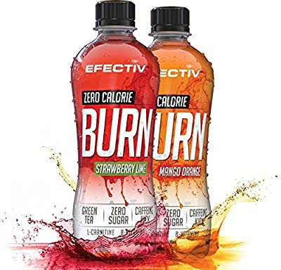 Efectiv Nutrition Zero Calorie Burn 12 x 500ml RTDs Diet Lose Weight Loss Fat Burner Ready To Drink from Efectiv Nutrition
