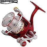 Spro Red Arc 1000 - Angelrolle zum Spinnfischen auf Barsche & Forellen, Stationärrolle zum Spinnangeln, Barschrolle, Forellenrolle