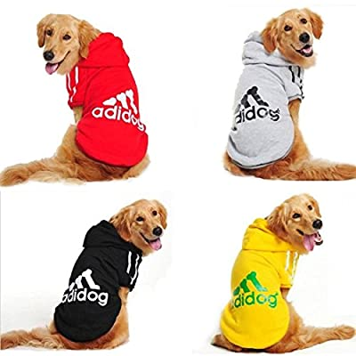 High Quality Spring Autumn Big Dog Clothes Coat Jacket Clothing for Dogs Large Size Golden Retriever Labrador 3XL-9XL Adidog Hoodie