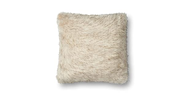 22 x 22 Ivory Loloi P0604 Pillow Cover Only//No Fill