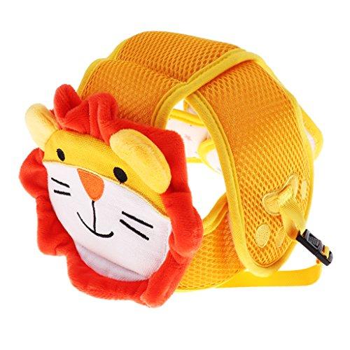 Baoblaze Niedlich Baby Safety Helmet Schutzhelm Babyhelm Kopfschutzmütze Krabbelhilfe beim Kriechenlernen Lauflernen - Löwe