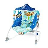 Disney Baby 11199 FINDING NEMO Explore the Sea to Big Kid Schaukelliege, blau