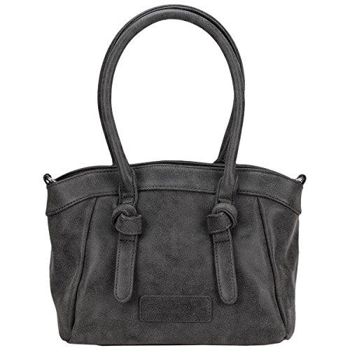 Fritzi aus Preußen Imke Vintage Handtasche 32 cm Black