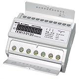 B+G E-Tech DRT751DE - LCD digitaler Drehstromzähler Stromzähler MID GEEICHT / BEGLAUBIGT 5(100)A mit S0 Interface für DIN Hutschiene -