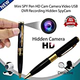 Die Hard™, Hidden Spy Pen Camera Recorder DVR Gold HD Vga 720X480P Cam