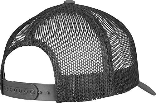 Flexfit 5-Panel Retro Trucker Cap Kape charcoal