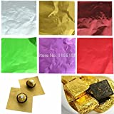 #8: chocolate/sweet wraper silver foil paper pack of 200pic[best in class]