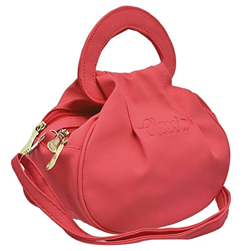BFC- Buy for change Fancy Stylish Elegant Women\'s Cross Body Sling Bag (Strawberry Pink)