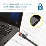 Kensington ClickSafe Laptop Lock With Anti-Tampering Technology, Strong Lock Head and One-Handed Operation - 1.5m Length (K64637WW)