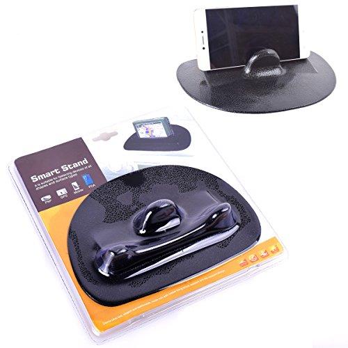 Silikon Telefonhalter Universal Handyhalter Anti-Rutsch Handy Halter Auto Schwarz für Android iphone Handy GPS Tab
