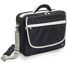Élite Bags Mod. PRACTI´S | Maletín médico asistencia domiciliaria | Múltiples compartimentos internos | Con separadores y velcro ajustable | Azul o negro | Diseñado en España | TOP VENTAS | MATERIAL MÉDICO NO INCLUÍDO