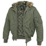 MA-1 Jacke Hooded Oliv - XL
