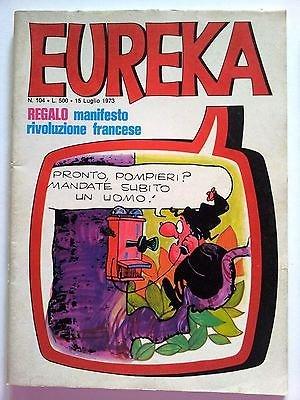 Eureka n.104 1973 Andy Capp, Sturmtruppen/Bonvi ed. Corno FU05