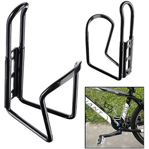 MaMaison007 Jaula de aluminio bici bicicleta botella de agua Rack soporte del nuevo