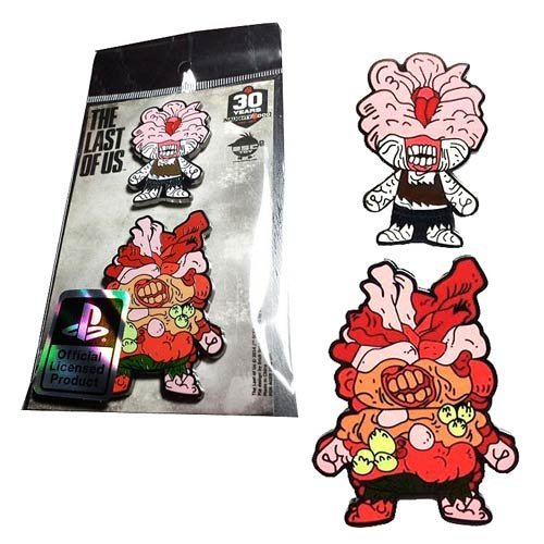 The Last of Us Clicker and Bloater Collectible Pin 2-Pack by Esc-Toy ()
