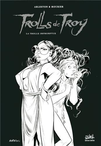 Trolls de Troy T17 - N&B par