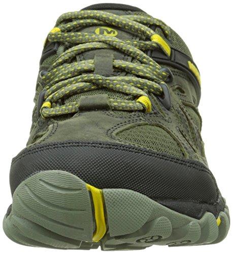 Merrell MerrellAll Out Blaze Vent Gore-Tex - Stivali da Escursionismo Uomo Verde (Olive)