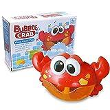 ZHENDUO Baby Badewannenspielzeug Crab Bubbler Spielzeug Badewanne Seifenblasenmaschine Musik Bubble Machine Spielzeug Badewanne für die Baby Kleinkindspielzeug