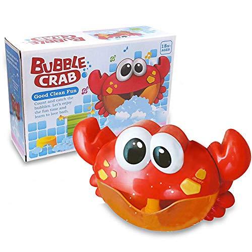 ZHENDUO Badewannenspielzeug, Badespielzeug, Baby Spielzeug, Seifenblasenmaschine, Wasserspielzeug, Badewanne Spielzeug mit Musik für die Baby -