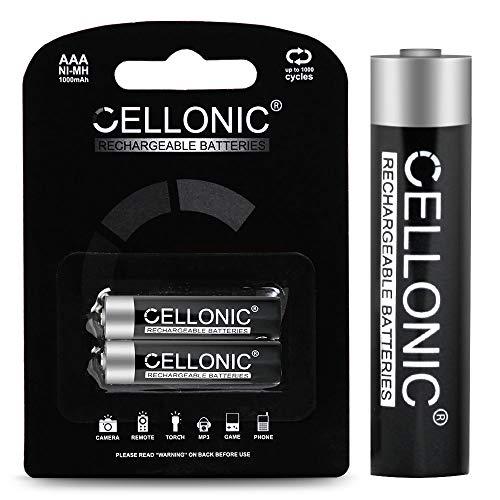 CELLONIC subtel® Qualitäts Akku kompatibel mit Siemens Gigaset A415 / Gigaset A415A / Gigaset C430 / Gigaset C430A / Gigaset S850 (2x1000mAh) Ersatzakku Batterie