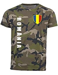 aprom Rumänien T-Shirt Camouflage Trikot Look Army Sp/A Romania