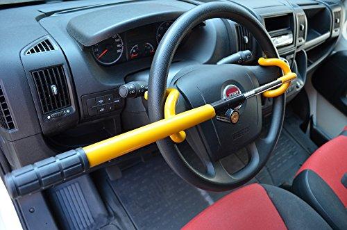 Preisvergleich Produktbild TierXXL Streetwize Auto Diebstahlsicherung Lenkradkralle Absperrstange