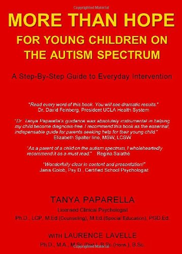 More Than Hope, for Young Children on the Autism Spectrum