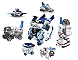 #10: Happy GiftMart 7 in 1 Space Fleet Solar Toy DIY Set Eco Science Educational Toy and Demonstration Kit Great Gift