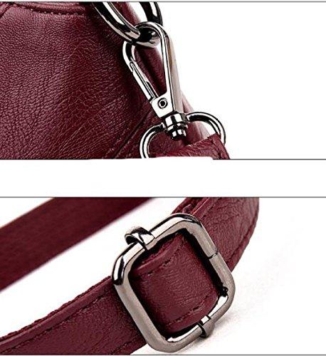 Versione Coreana Del Selvaggio Semplice Spalla Borsa Messenger Bag A4