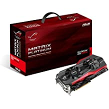 ASUS 90YV05D0-M0NA00 - Asus Radeon R9 290X ROG Matrix Platinum 4096MB GDDR5 PCI-Express Graphics Card (MATRIX-R9290X-P-4GD5)