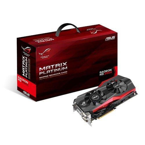 ASUS matrix-r9290x -p-4gd5Radeon R9290x 4GB GDDR5-Grafikkarten (AMD, Radeon R9290x, 1050MHz, 4GB, GDDR5, 512Bit) (R9 Grafikkarte Amd)
