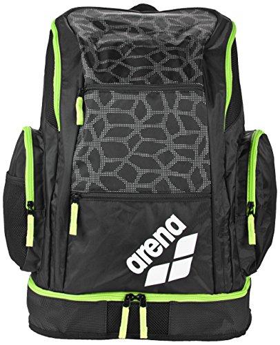 Arena Spiky 2Large, Sporttasche Unisex Erwachsene Einheitsgröße Black X/Pivot/Fluo Green (Arena Schwimmen)