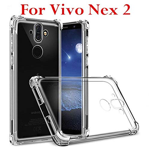 AIOIA Hülle für Vivo Nex 2,TPU Schutzhülle Dünn Schlank Weich Flexibel Anti-Kratzer Schutzhülle Abdeckung Crystal Clear Case Cover für Vivo Nex 2