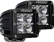 Flood Surface Mount Black Pair D-Series Pro RIGID Industries