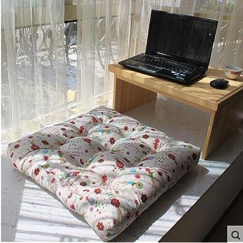 New day-Visualizza tela cuscini galleggianti finestra stuoie futon per cuscini multicolore più spessa di divano da giardino cuscini comfort , e