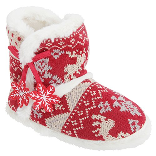 Universal Textiles , Chaussons pour femme red