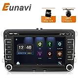 New 17,8cm 2DIN Car DVD GPS Stereo Auto DVD GPS Player Navigation für VW Passat B6Golf 456Polo passatcc Jetta Tiguan Touran Eos Sharan Scirocco Caddy HD Kostenloser Kamera- und Karte