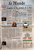 Telecharger Livres MONDE LE No 17808 du 27 04 2002 ESPAGNE PREMIERES INCULPATIONS DANS LE SCANDALE DE LA BANQUE BBVA URBANISME LES PIEGES DE LA MIXITE SOCIALE BASKET A VALENCIENNES LES FILLES REVENT D EUROPE MODE LE SURREALISME INSPIRE LES COUTURIERS PORTRAIT ROMAIN GOUPIL SES ENGAGEMENTS ENQUETE SUR LES RESEAUX DE LE PEN CONTRE LE FN UNE IMMENSE VAGUE LES BLEUS CHAMPIONS DU MONDE DE L ABSTENTION ET DU REMORDS PAR FREDERIC POTET THEATRE LA MORT DE DANTON A L ODEON (PDF,EPUB,MOBI) gratuits en Francaise