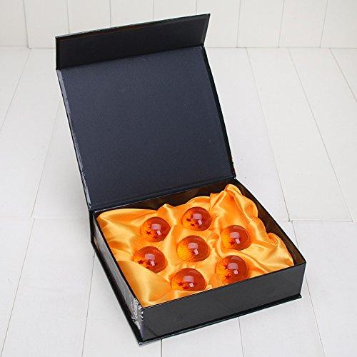 Geschenkbox - 7 Dragonballs kaufen - Dragonballs kaufen für Cosplay Kostüm - Manga Anime Set Son-Goku - Vegeta - Shenlong Kugeln kaufen
