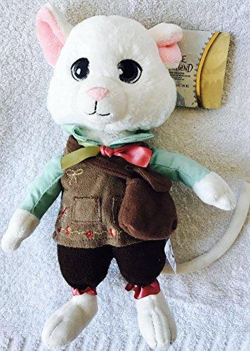 Disney Tim Burton Alice im Wunderland, Dormouse Weiße Maus weichen Plüschtier. Authentic Disney von Alice durch Glas