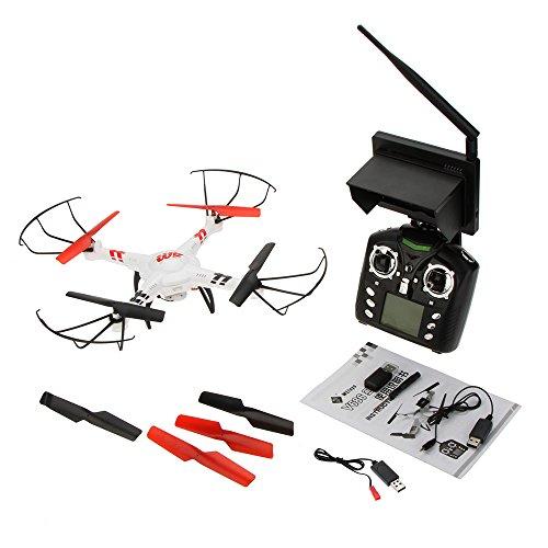 Wltoys V686G 2,4 G 4CH Echtzeit Übertragung FPV Drohne UFO Quadcopter mit 2MP HD Kamera Headless Mode - 9