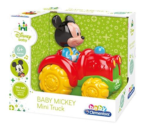 Preisvergleich Produktbild Clementoni–14976 Traktor mit Musik aus Micky Maus, Kleinkind-/ Säuglingsalter