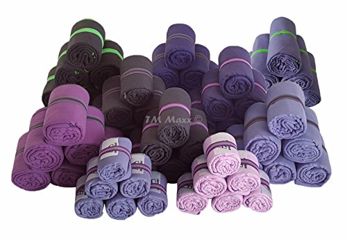Mikrofaser Badetuch Handtuch Strandtuch Trekking Fitnesstuch 7 Größen 5 Farben (Violett, 78x160cm)