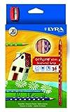 Lyra L2821360 - Astuccio 36 Pastelli Groove Slim