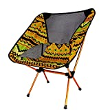 Unbekannt Outdoor Camping Klappstuhl Portable Picknick BBQ Beach Fishing Chair mit Tragetasche