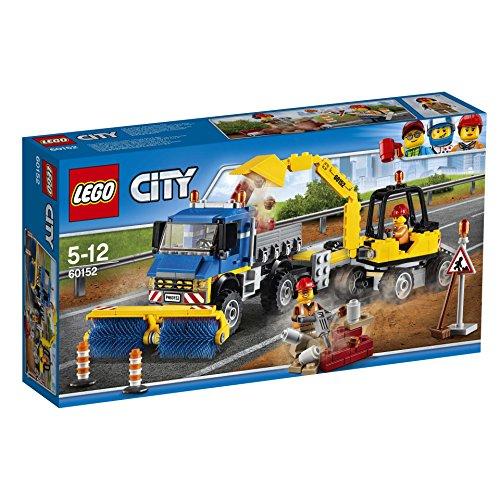 Preisvergleich Produktbild Lego City 60152 Straßenreiniger und Bagger