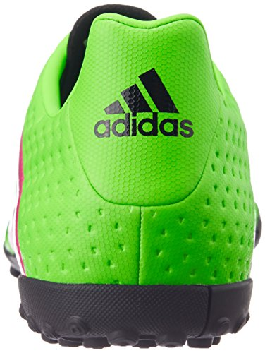 Adidas Ace 16.4 Tf, Scarpe da Calcio Uomo, Multicolore Verde (Solar Green/Shock Pink/Core Black)